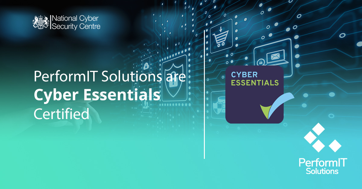 Cyber Essentials certified organisation