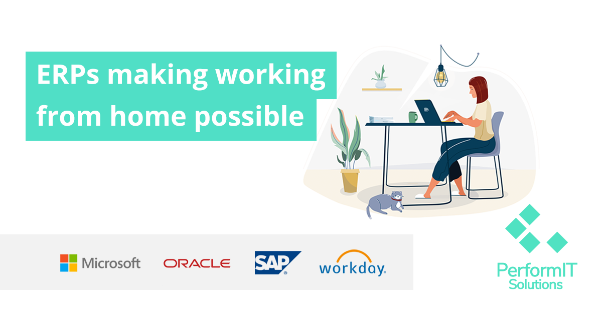ERPs Making Working From Home Possible